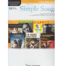 Simple Songs Tenor Sax/ Audio