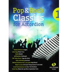 Pop and Rock Classics for Accordion 1
