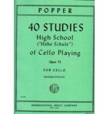 40 Studies High School Op. 73