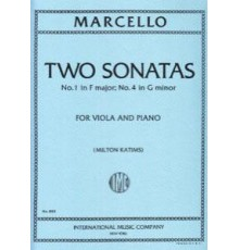 Two Sonatas Nº1 F Major. Nº 4 G minor