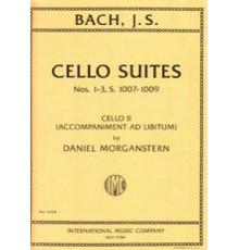 Cello Suite Nºs 1-3 S.1007-1009 Cello II