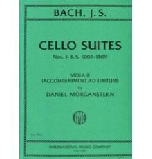 Cello Suite Nºs 1-3.1007-1009 Viola II