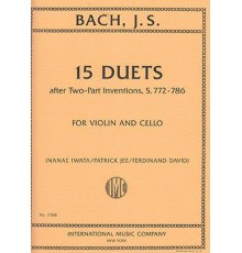 15 Duets after Two-Part Inventions, S.