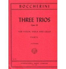 Three Trios Op. 38/ Parts