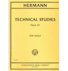 Technical Studies Op. 22