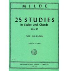 25 Studies in Scales and Chords, Op.24