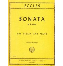 Sonata G minor for Violin and Piano