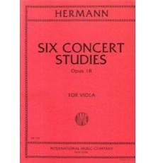 Six Concert Studies Op. 18