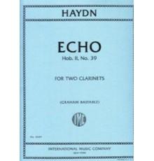 Echo Hob. II, Nº 39 for Two Clarinets