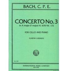Concerto Nº 3 A Major/ Red.Pno.