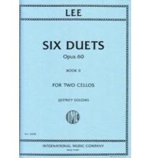 Six Duets Op. 60 Vol. II
