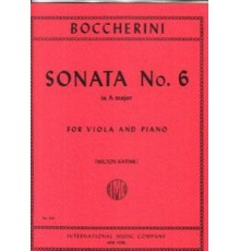Sonata Nº 6 for Viola and Pinao