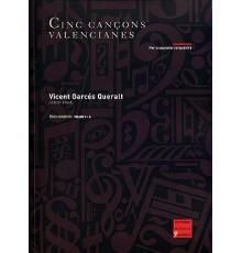 Cinc Cançons Valencianes/ Full Score