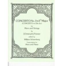 Concerto Nº 2 in Eb Major/ Red.Pno
