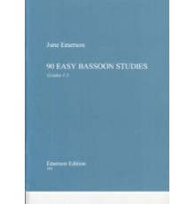 90 Easy Bassoon Studies Grades 1-5