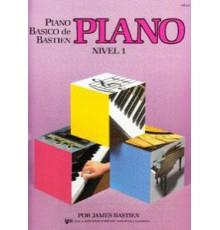 Bastien P. Básico.Piano. Nivel 1º