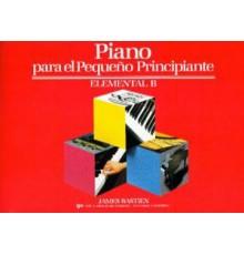 Bastien Piano Pequeño Principiante B Ele