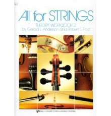 All for Strings Theory Workbook 2 Cello