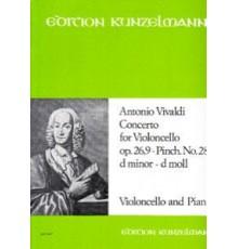 Concerto Violoncello Op. 26,9-Pinch. Nº