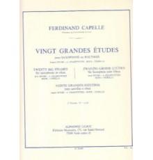 Vingt Grandes Etudes Vol. 1