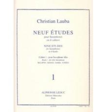 Neuf Etudes Vol. 1