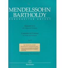Concerto in E minor Op. 64/ Red. Pno.
