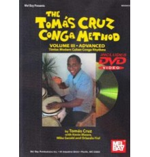The Tomás Cruz Conga Method Vol. III   D