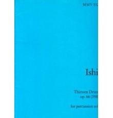 Thirteen Drums Op. 66 (1985)