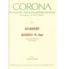 Rondo A-Dur for Violin and String Quarte