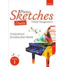 Piano Sketches Duets. 6 Easy Pieces  for