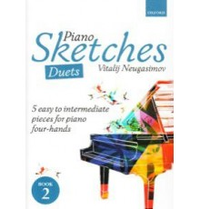 Piano Sketches Duets. 5 Easy to Interme