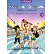 Fiddle Time Sprinters Violin Book 3   CD