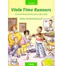 Viola Time Runners  Book 2   CD