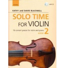 Solo Time for Violin Book 2   CD