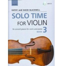 Solo Time for Violin Book 3   CD