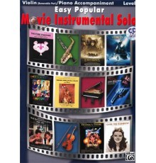 Easy Popular Movie Instr.Solos Violin-Pi