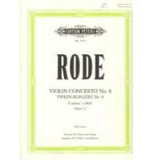 Konzert Nº 8 E moll Op. 13/ Red.Pno.