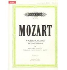 Violin Sonatas Band 3. K. 454, 481, 526,