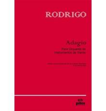 Adagio para Or.Instrum.Viento/ Score & P