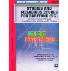 Studies and Melodious Bariton (B.C.) Two