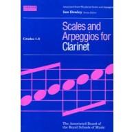 Scales & Arpeggios Clarinet Grades 1-8