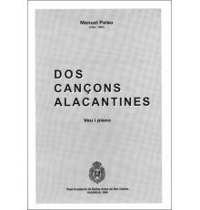 Dos Cançons Alacantines