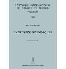 Expresions Simfoniques/ Score & Parts A-