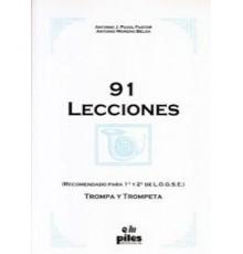 91 Lecciones para Trompa y Trompeta