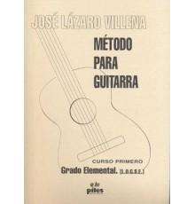 Método para Guitarra. Curso 1º Grado Ele