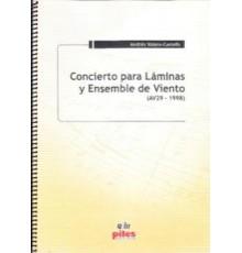 Concierto para Láminas y Ensemble de Vie