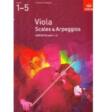 Viola Scales & Arpeggios Grades 1-5