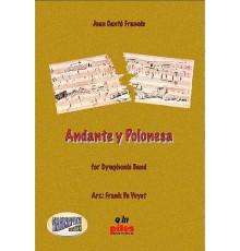 Andante y Polonesa/ Score & Parts A-4