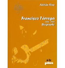 Francisco Tárrega 1852 - 1909 Biography.