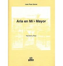 Aria en Mib Mayor. Violín y Piano